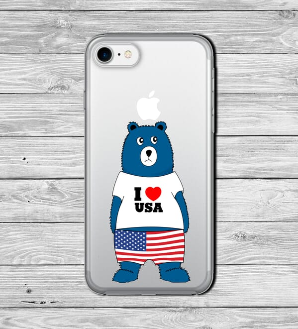 Love your country custom phone case