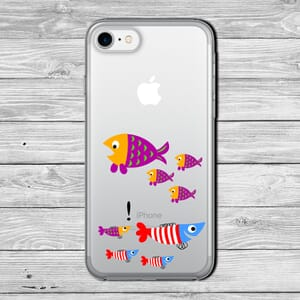 Phone case confused fish
