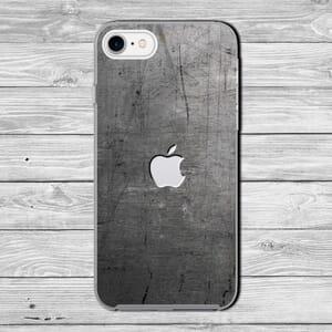 Iphone steel effect case